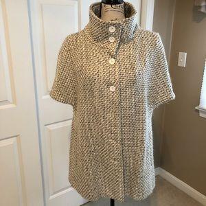 Stunning Short Sleeve Coat